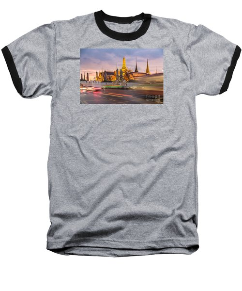 Bangkok Wat Phra Keaw Baseball T-Shirt