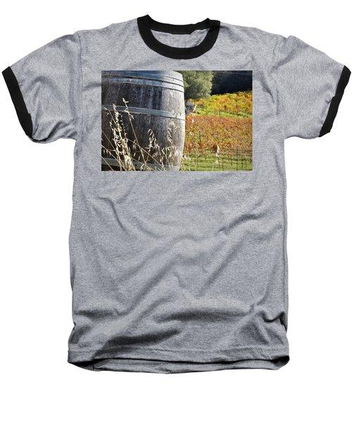 Barrel In The Vineyard Baseball T-Shirt