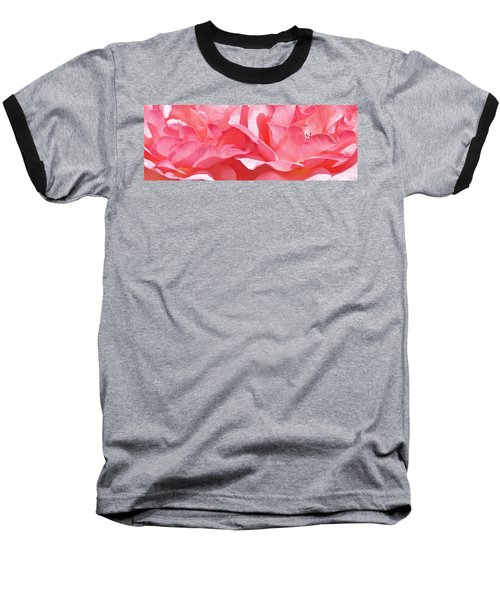 Beautiful Pink Rose Baseball T-Shirt