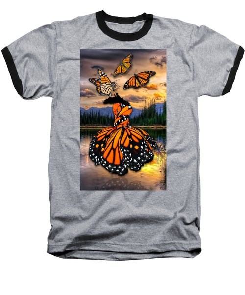 Baseball T-Shirt featuring the mixed media Believe by Marvin Blaine