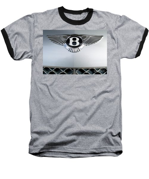 Bentley Emblem Baseball T-Shirt by Pamela Walrath