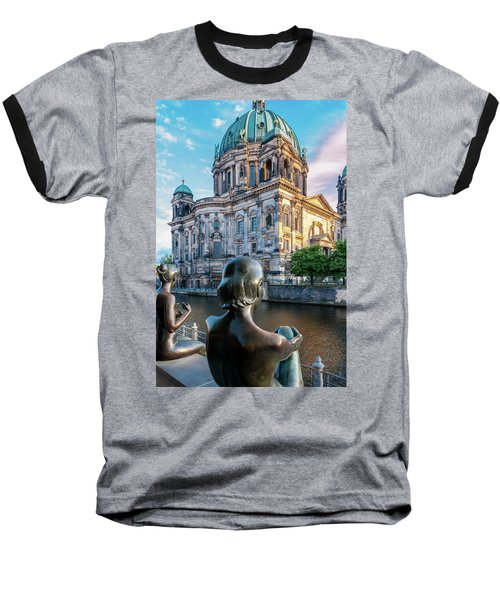 Berlin Baseball T-Shirt by Stavros Argyropoulos