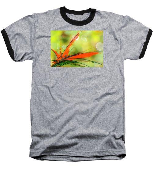 Bird Of Paradise 2 Baseball T-Shirt by Kume Bryant