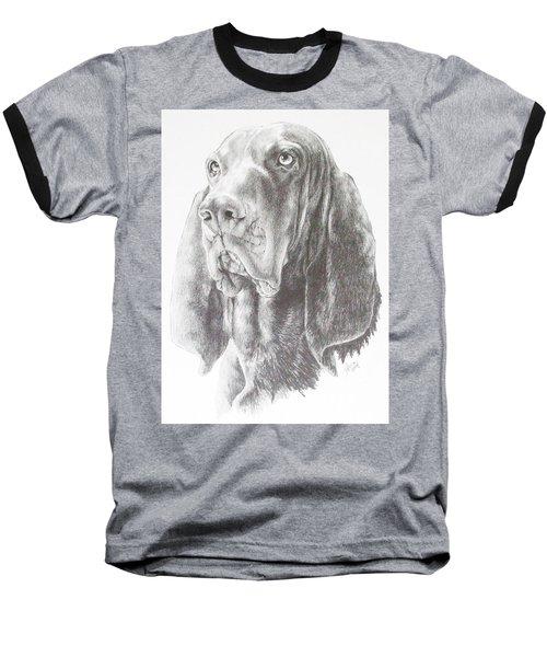 Black And Tan Coonhound Baseball T-Shirt
