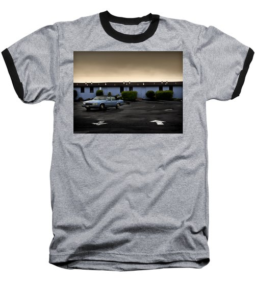 Blue Motel Baseball T-Shirt