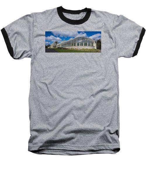 Botanical House Baseball T-Shirt by Martina Fagan