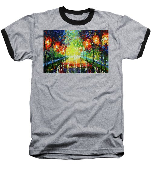 Bright Path Baseball T-Shirt