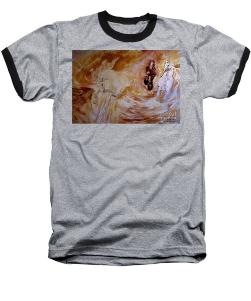 Bringers Of The Dawn Section Of Mural Baseball T-Shirt