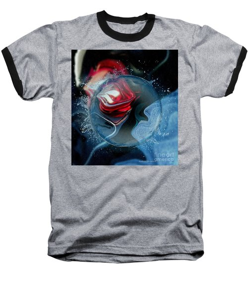 Baseball T-Shirt featuring the photograph Upheaval by Kathie Chicoine