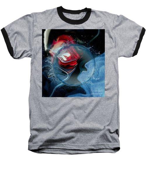 Upheaval Baseball T-Shirt by Kathie Chicoine