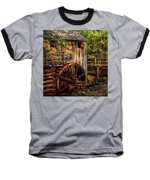 Cades Cove Mill Baseball T-Shirt