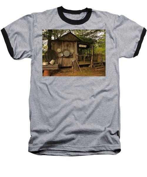 Cajun Cabin Baseball T-Shirt