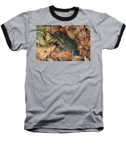 Baseball T-Shirt featuring the photograph Cane Toad by Breck Bartholomew