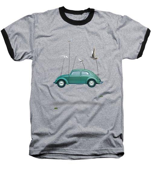 Cars  Baseball T-Shirt by Mark Ashkenazi