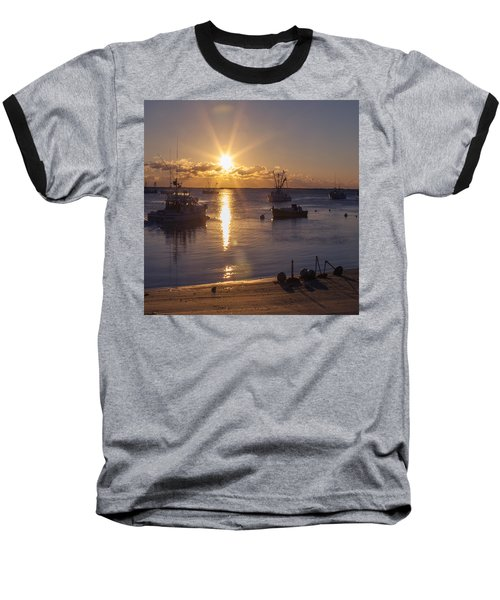Baseball T-Shirt featuring the photograph Chatham Sunrise by Charles Harden