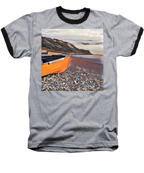 Chesil Beach Baseball T-Shirt