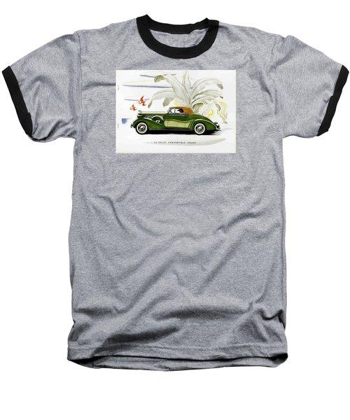 Baseball T-Shirt featuring the photograph Classic Cars by Allen Beilschmidt