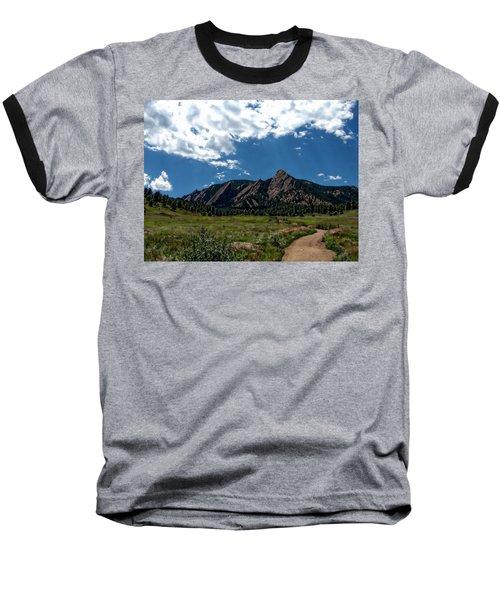 Colorado Landscape Baseball T-Shirt