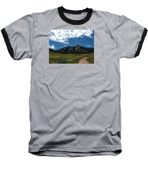 Colorado Landscape Baseball T-Shirt