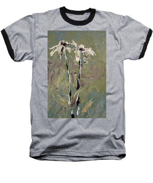 Cone Flowers Baseball T-Shirt by Jim Vance