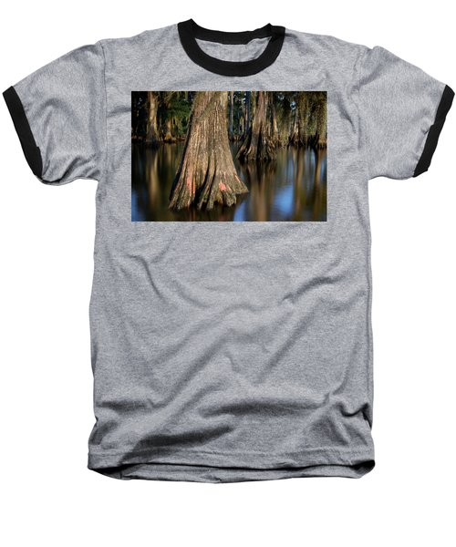 Baseball T-Shirt featuring the photograph Cypress Trees by Evgeny Vasenev
