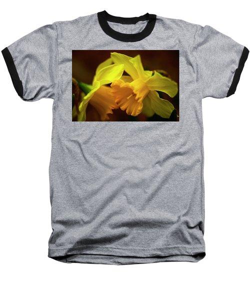 2 Daffodils Baseball T-Shirt