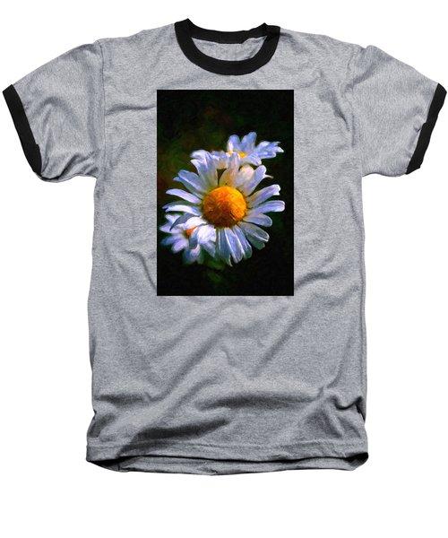 Daisy Baseball T-Shirt by Andre Faubert