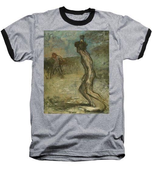 David And Goliath Baseball T-Shirt