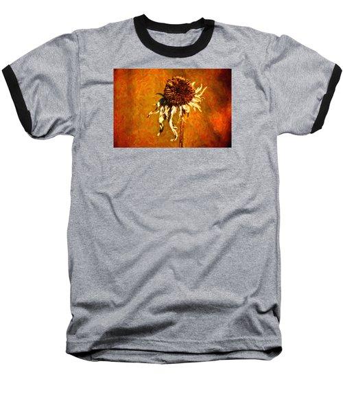 Dead Flower Baseball T-Shirt