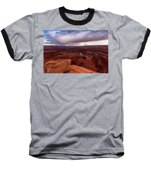 Baseball T-Shirt featuring the photograph Dead Horse Point by Jay Stockhaus