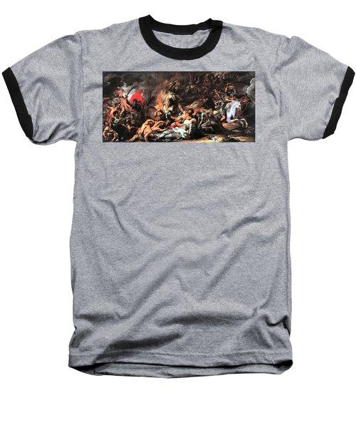 Death On A Pale Horse Baseball T-Shirt
