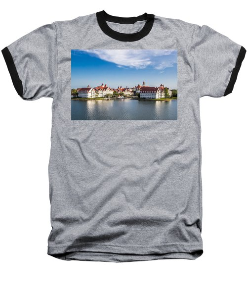 Disney's Grand Floridian Resort And Spa Baseball T-Shirt