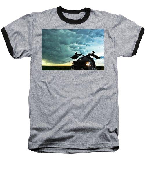 Dominating The Storm Baseball T-Shirt