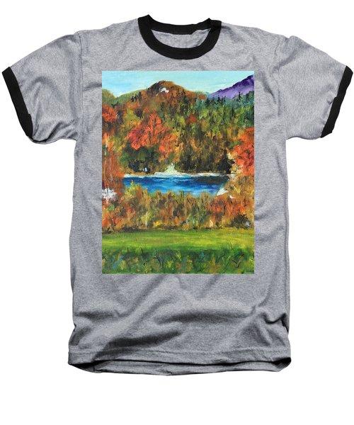 Fall In The Adirondacks Baseball T-Shirt