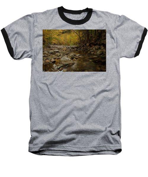 Fall On The Gale River Baseball T-Shirt