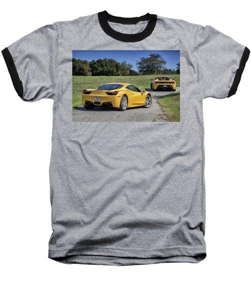 #ferrari #458italia #print Baseball T-Shirt