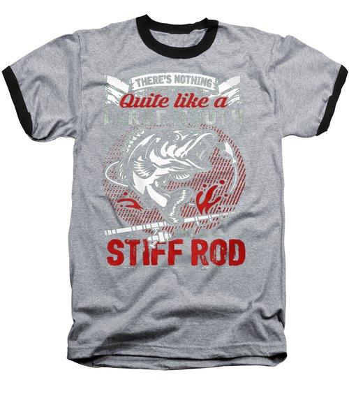 Fishing Baseball T-Shirt by Thucidol