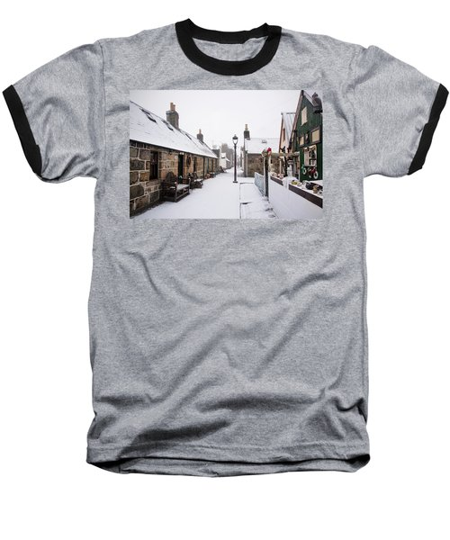 Fittie In The Snow Baseball T-Shirt