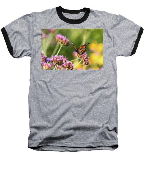 Flight Of The Monarch 1 Baseball T-Shirt