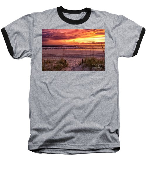 Florida Sunset Baseball T-Shirt