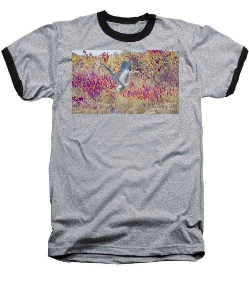 Fly Fly Away Baseball T-Shirt by Judy Kay
