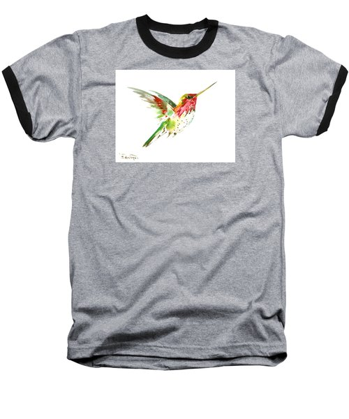 Flying Hummingbird Baseball T-Shirt