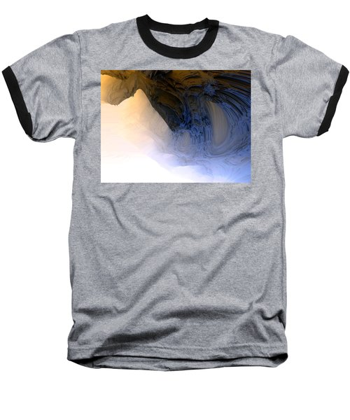 Fog In The Cave Baseball T-Shirt