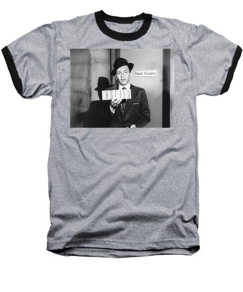 Frank Sinatra Baseball T-Shirt by Underwood Archives