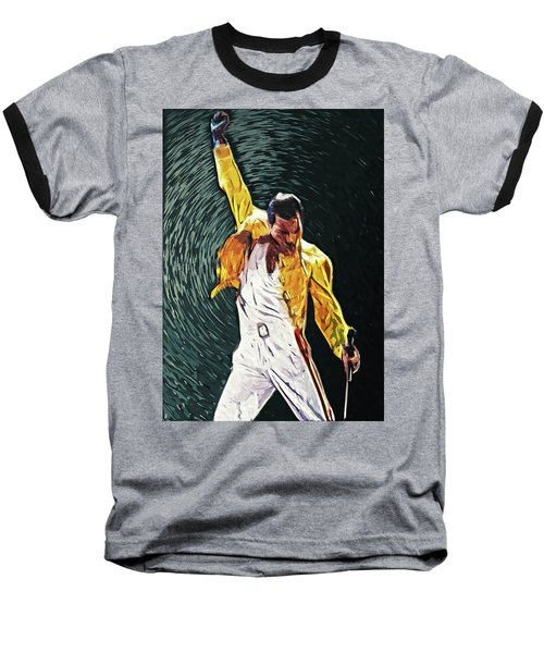 Freddie Mercury Baseball T-Shirt