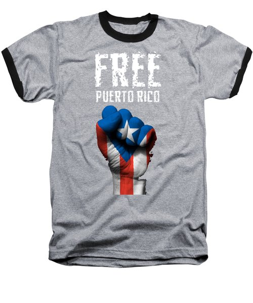 Free Puerto Rico Baseball T-Shirt