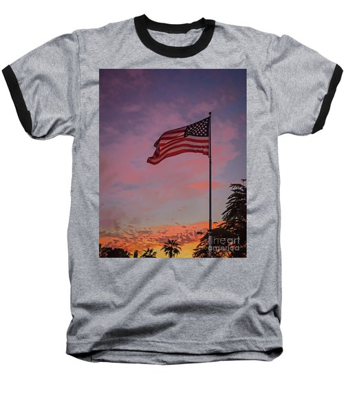 Baseball T-Shirt featuring the photograph Freedom by Robert Bales