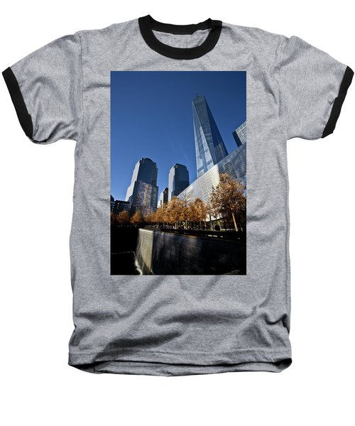 Freedom Tower Baseball T-Shirt