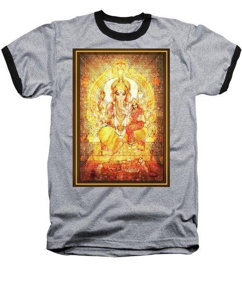 Ganesha Ganapati - Success Baseball T-Shirt