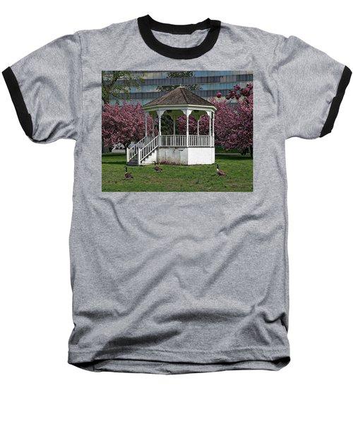 Gazebo In The Park Baseball T-Shirt